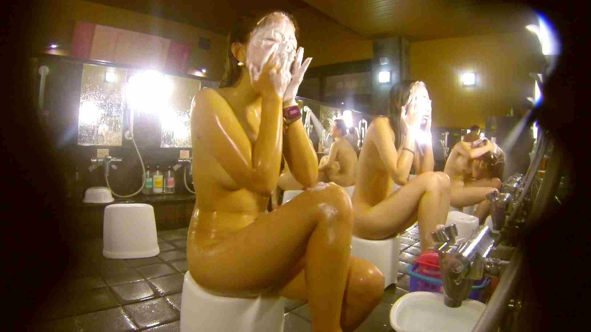 追い撮り!脱衣~洗い場、そして着替え、髪を乾かすまで完全追跡。 美乳 ヌード画像 84枚 59