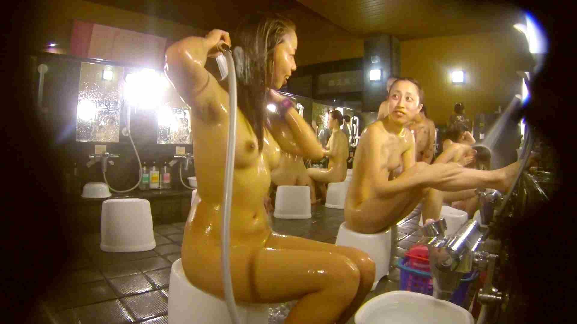 追い撮り!脱衣~洗い場、そして着替え、髪を乾かすまで完全追跡。 銭湯事情  84枚 66