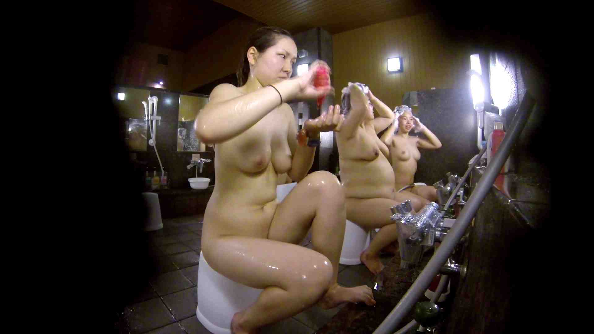 洗い場!色白でなかなかの美巨乳。柔らかく揺れまくりです 巨乳 セックス画像 94枚 61