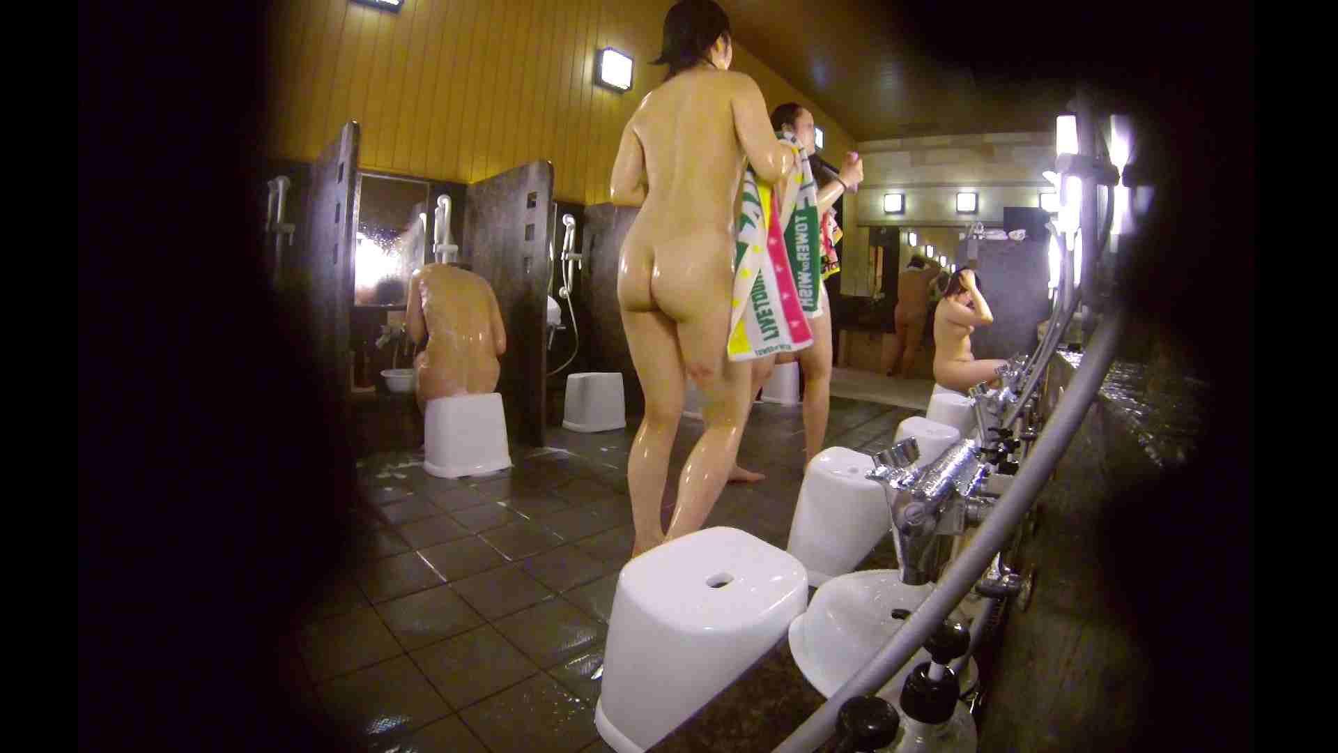 洗い場!ムッチリの2人組。美女ではないですが、触りたくなる体つき 美肌  107枚 28