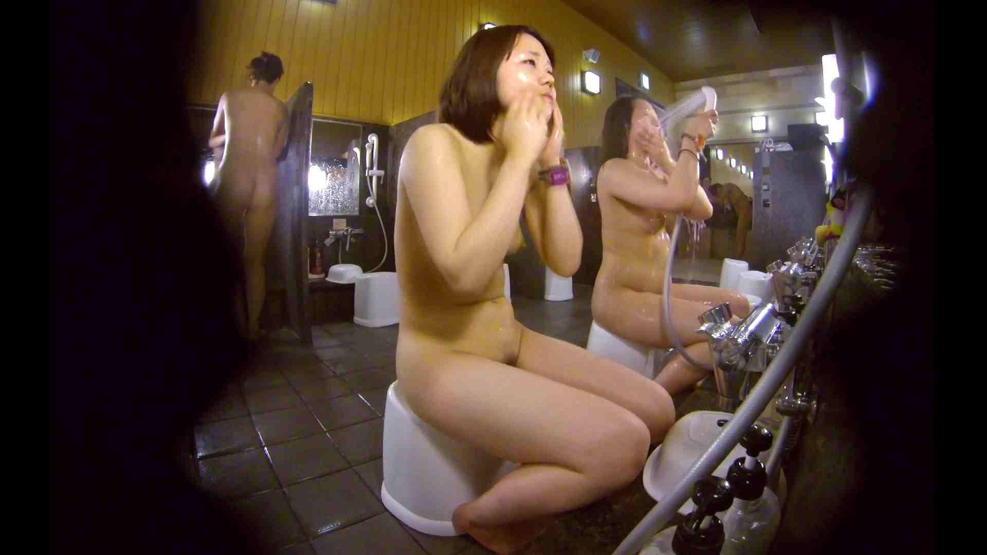 洗い場!ムッチリの2人組。美女ではないですが、触りたくなる体つき 美女 アダルト動画キャプチャ 107枚 31