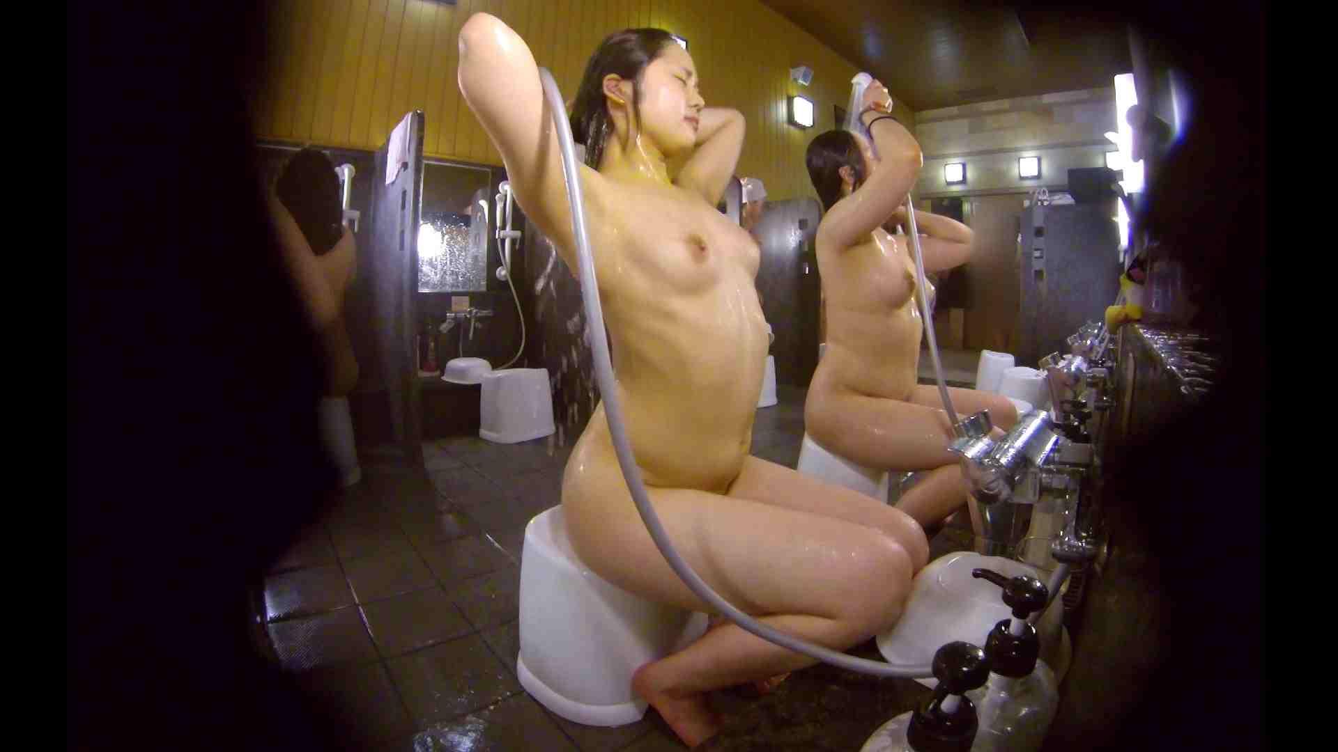 洗い場!ムッチリの2人組。美女ではないですが、触りたくなる体つき むっちりガール おまんこ無修正動画無料 107枚 40