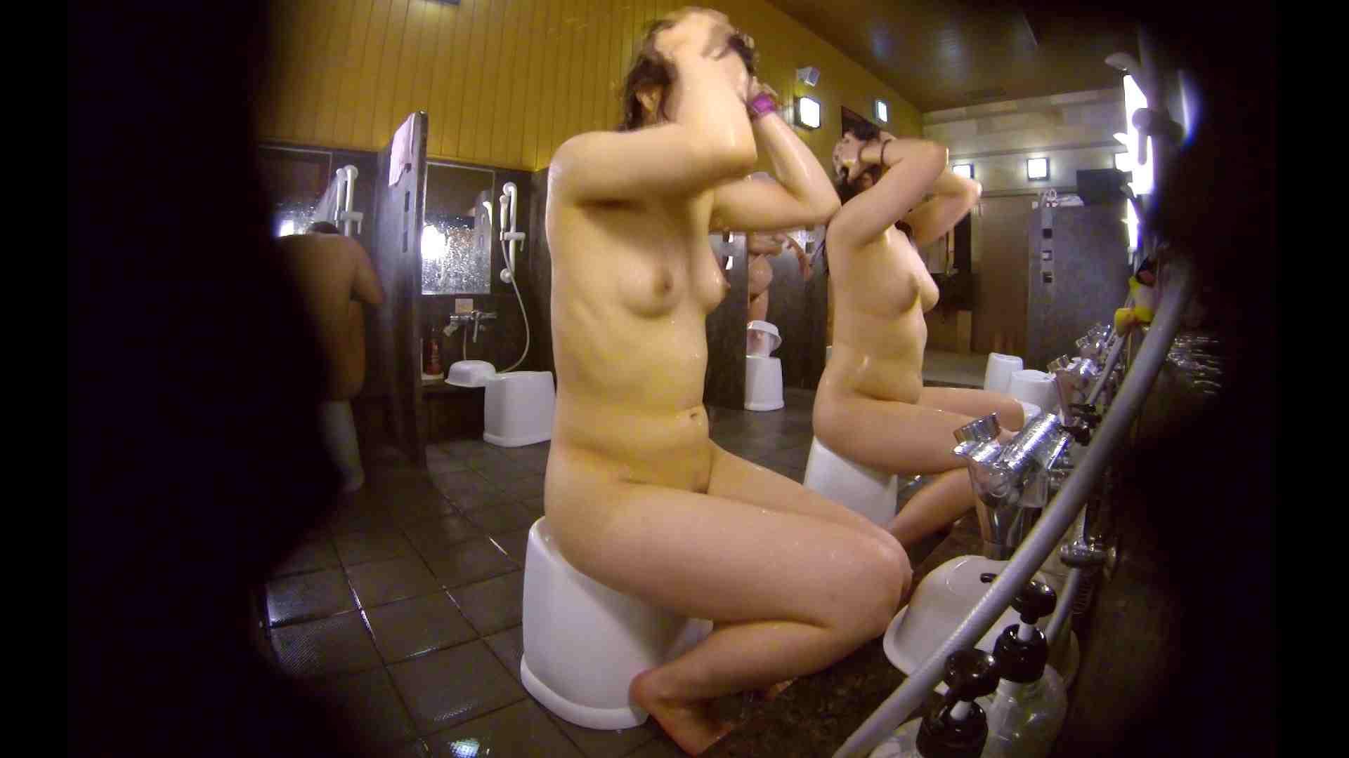 洗い場!ムッチリの2人組。美女ではないですが、触りたくなる体つき 美女 アダルト動画キャプチャ 107枚 45