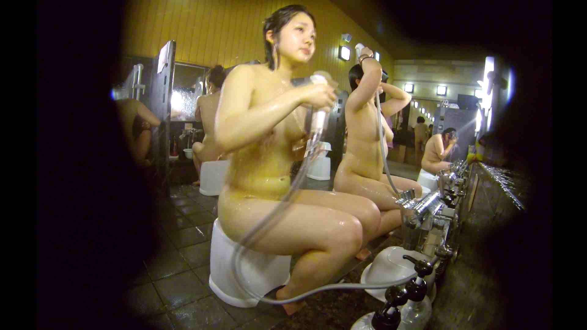 洗い場!ムッチリの2人組。美女ではないですが、触りたくなる体つき 美肌 | 女湯のぞき  107枚 50