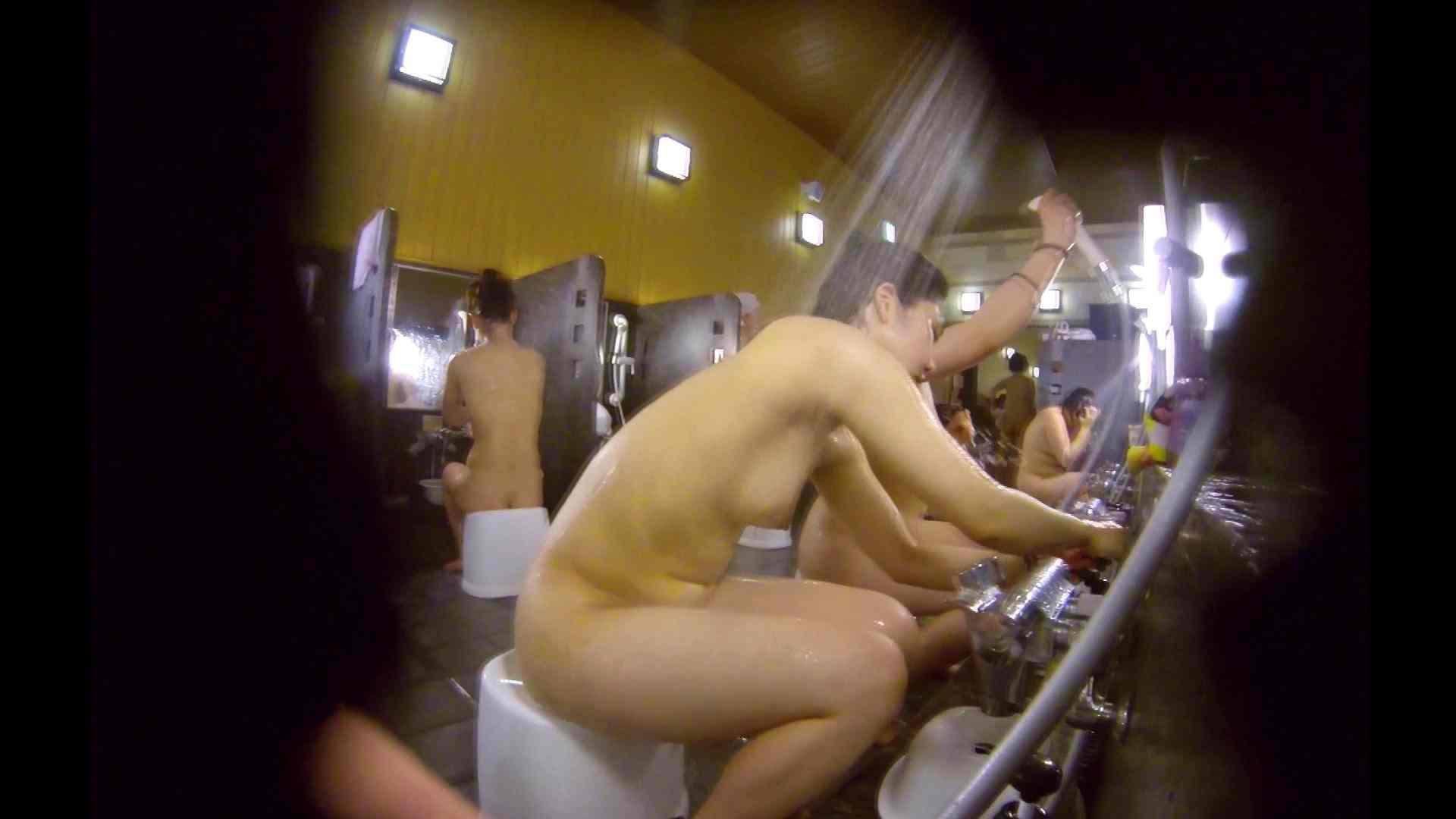 洗い場!ムッチリの2人組。美女ではないですが、触りたくなる体つき 美女 アダルト動画キャプチャ 107枚 52