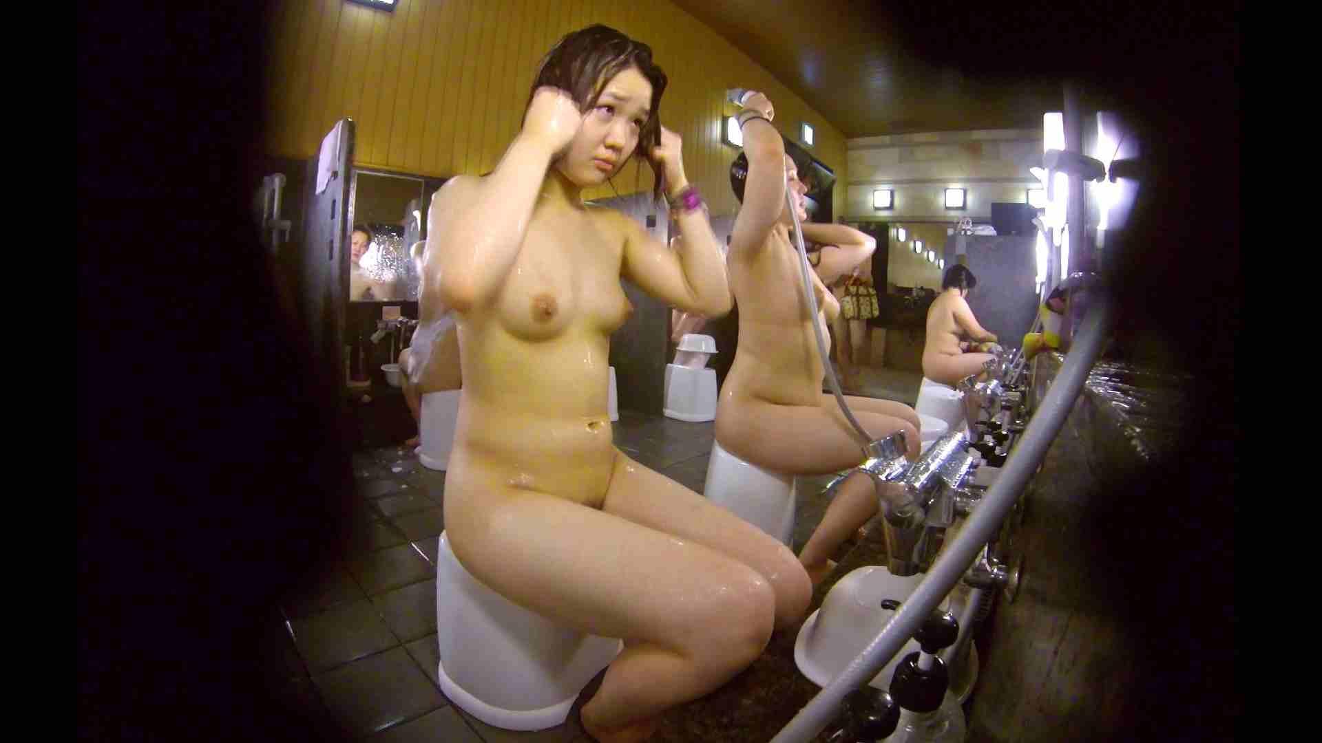 洗い場!ムッチリの2人組。美女ではないですが、触りたくなる体つき 潜入 ヌード画像 107枚 67