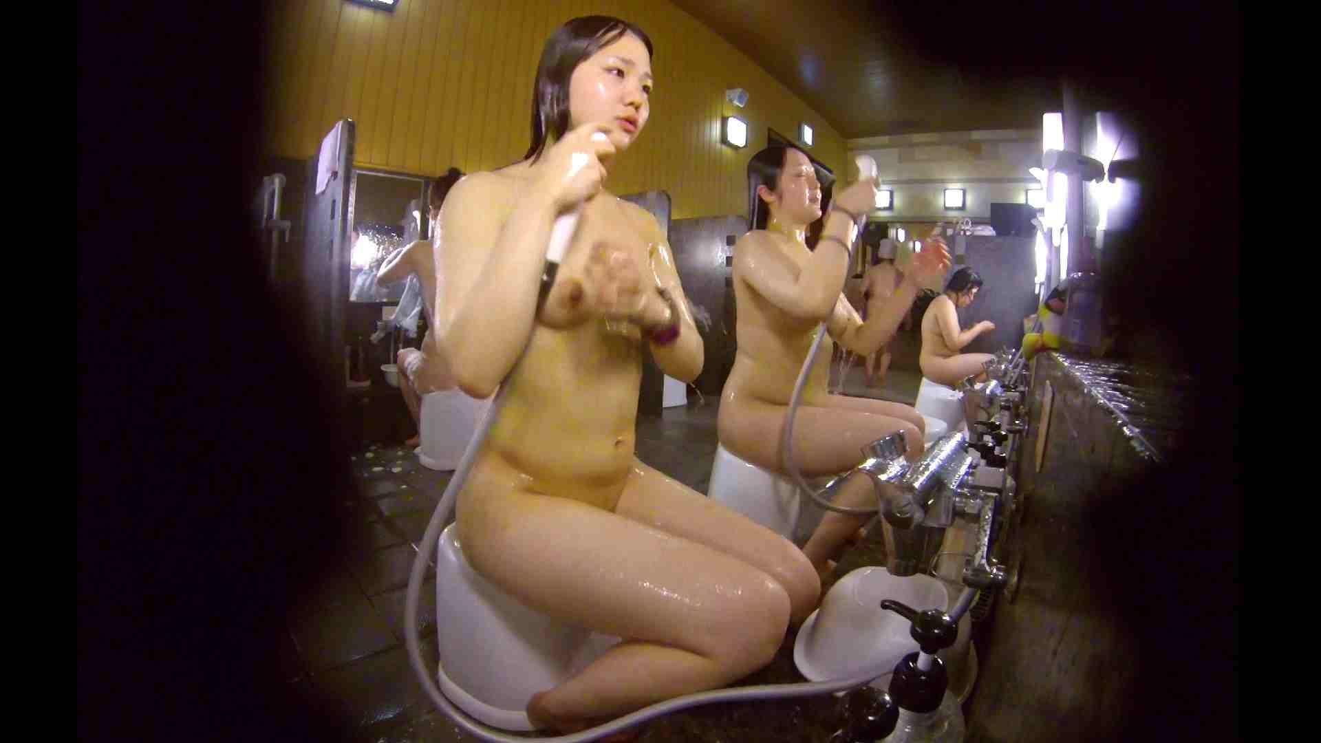 洗い場!ムッチリの2人組。美女ではないですが、触りたくなる体つき 美女 アダルト動画キャプチャ 107枚 73