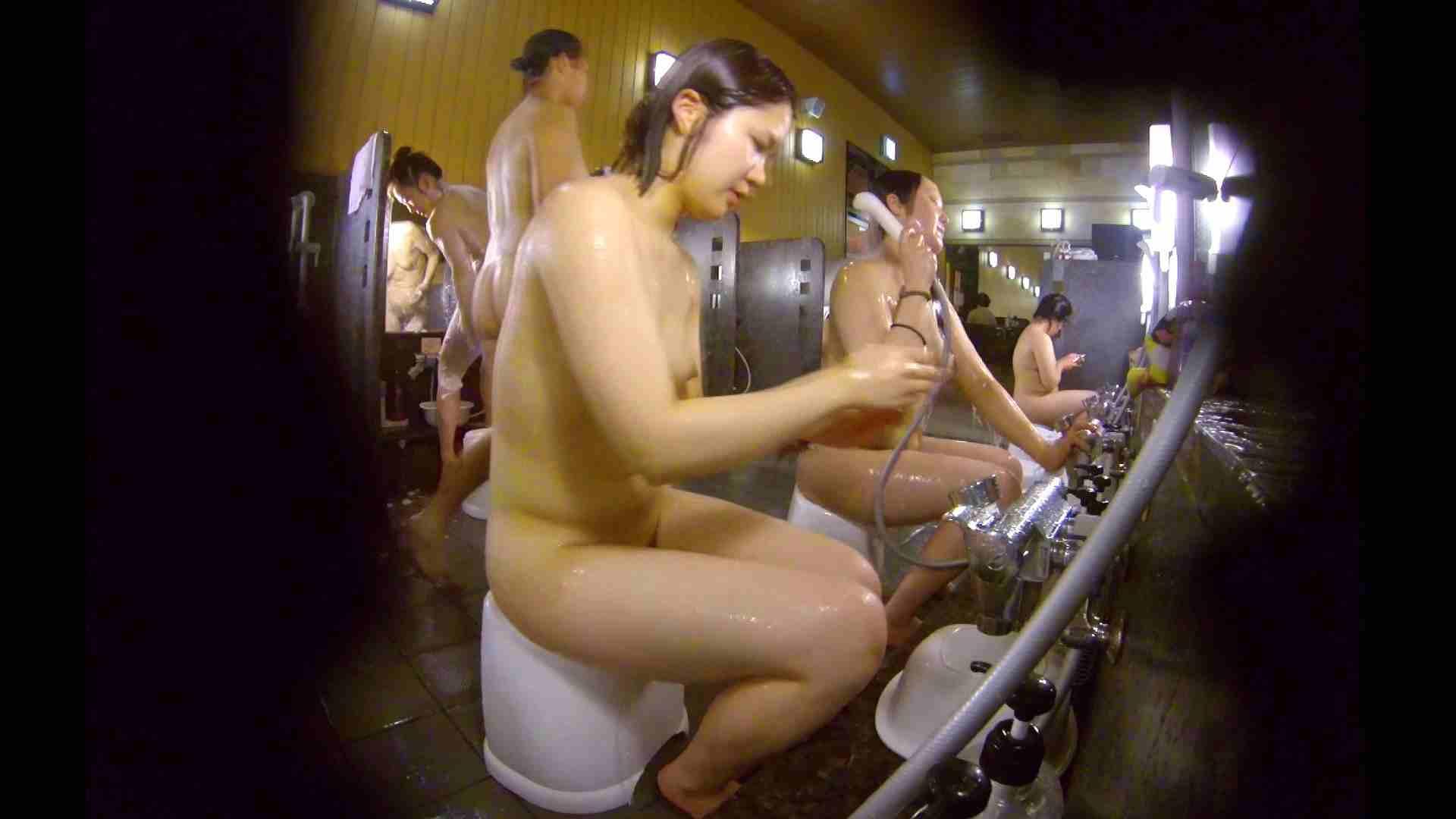 洗い場!ムッチリの2人組。美女ではないですが、触りたくなる体つき 美肌 | 女湯のぞき  107枚 78