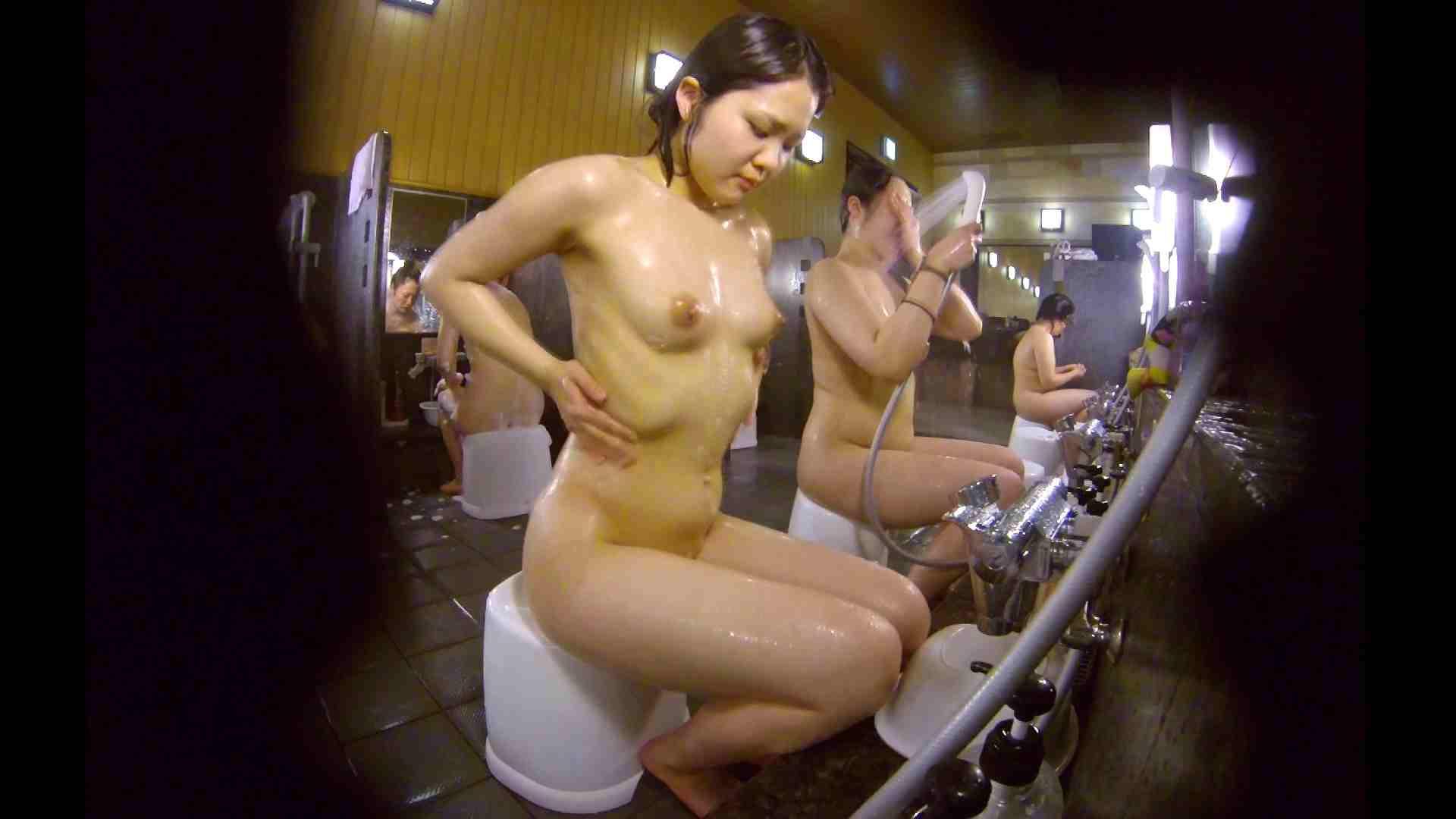 洗い場!ムッチリの2人組。美女ではないですが、触りたくなる体つき 銭湯事情 性交動画流出 107枚 83