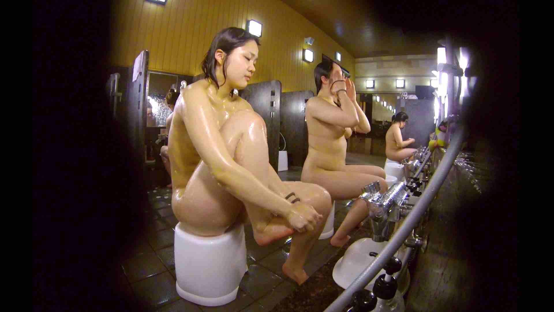 洗い場!ムッチリの2人組。美女ではないですが、触りたくなる体つき 潜入 ヌード画像 107枚 88