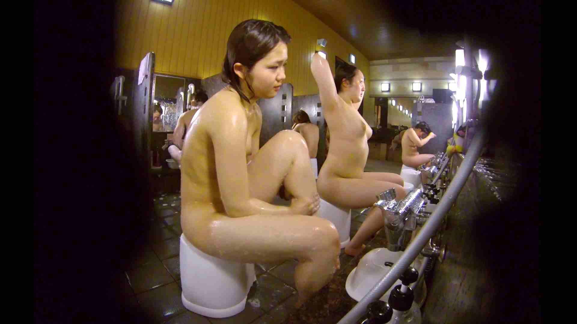 洗い場!ムッチリの2人組。美女ではないですが、触りたくなる体つき 美女 アダルト動画キャプチャ 107枚 94