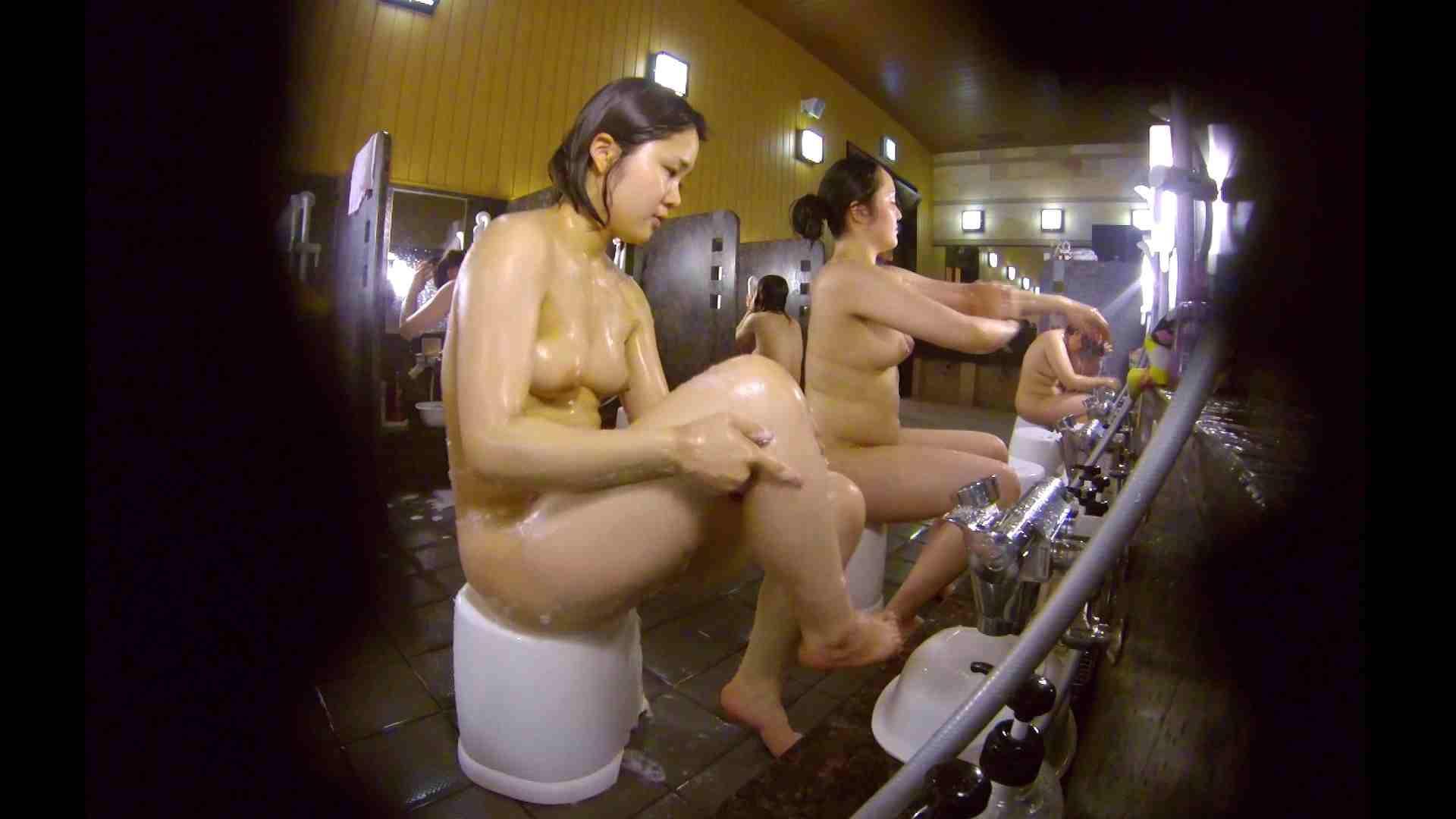 洗い場!ムッチリの2人組。美女ではないですが、触りたくなる体つき 美肌 | 女湯のぞき  107枚 99