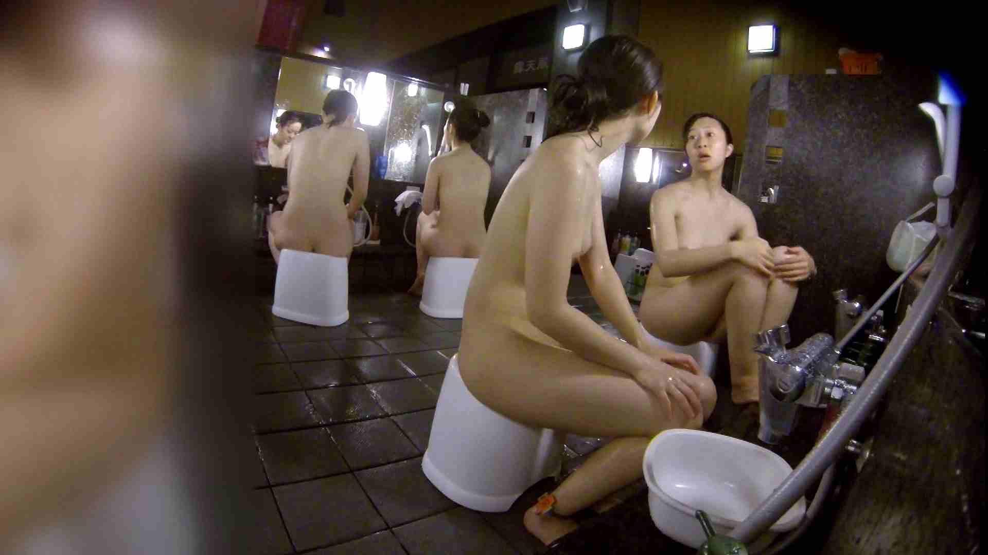 洗い場!地味目の女の子2人組。ずっと話しながら洗ってます。 むっちりガール おまんこ動画流出 111枚 21