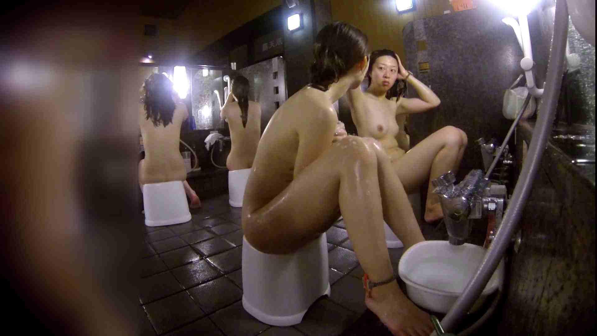 洗い場!地味目の女の子2人組。ずっと話しながら洗ってます。 銭湯事情 われめAV動画紹介 111枚 31