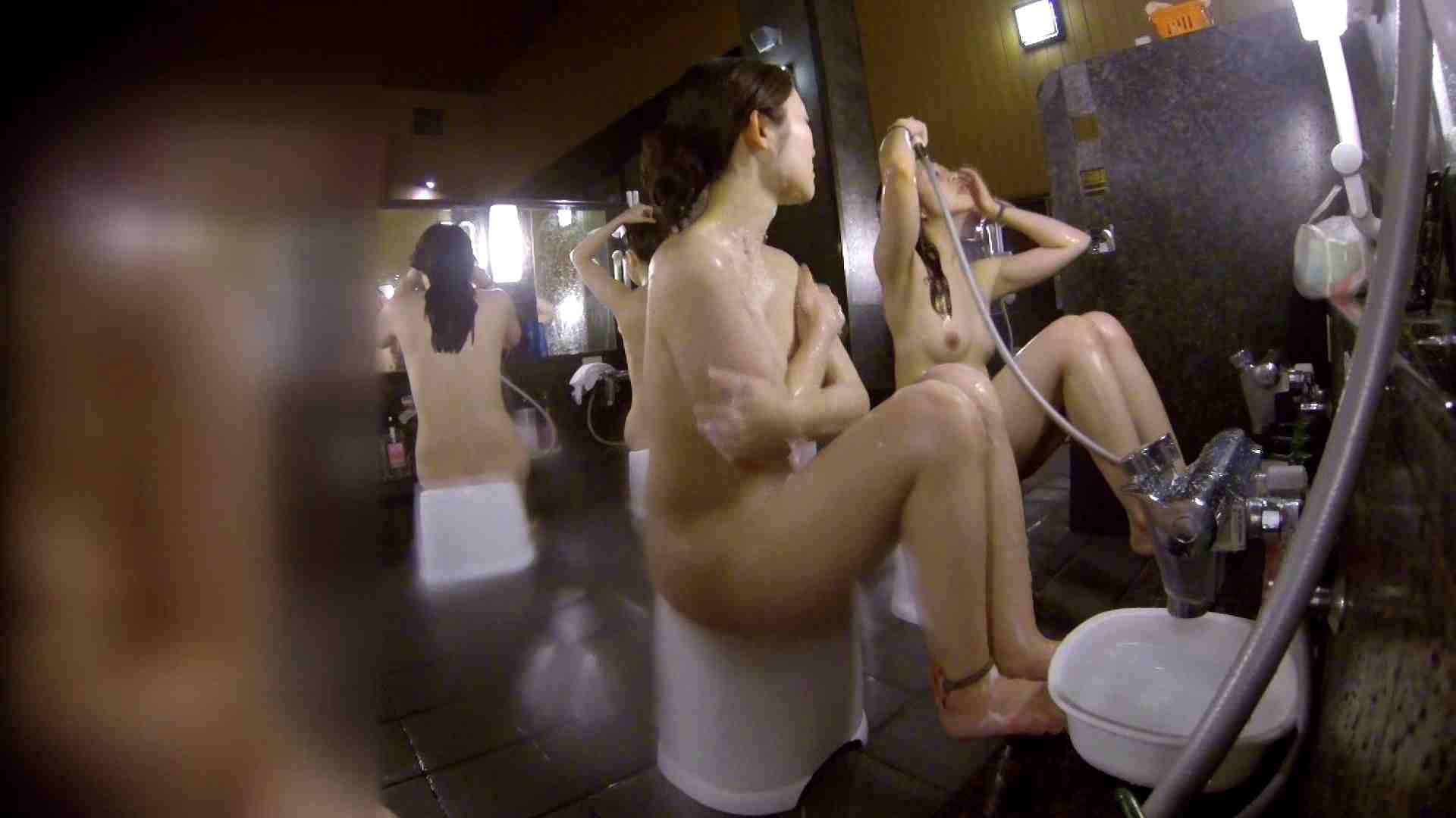 洗い場!地味目の女の子2人組。ずっと話しながら洗ってます。 むっちりガール おまんこ動画流出 111枚 69