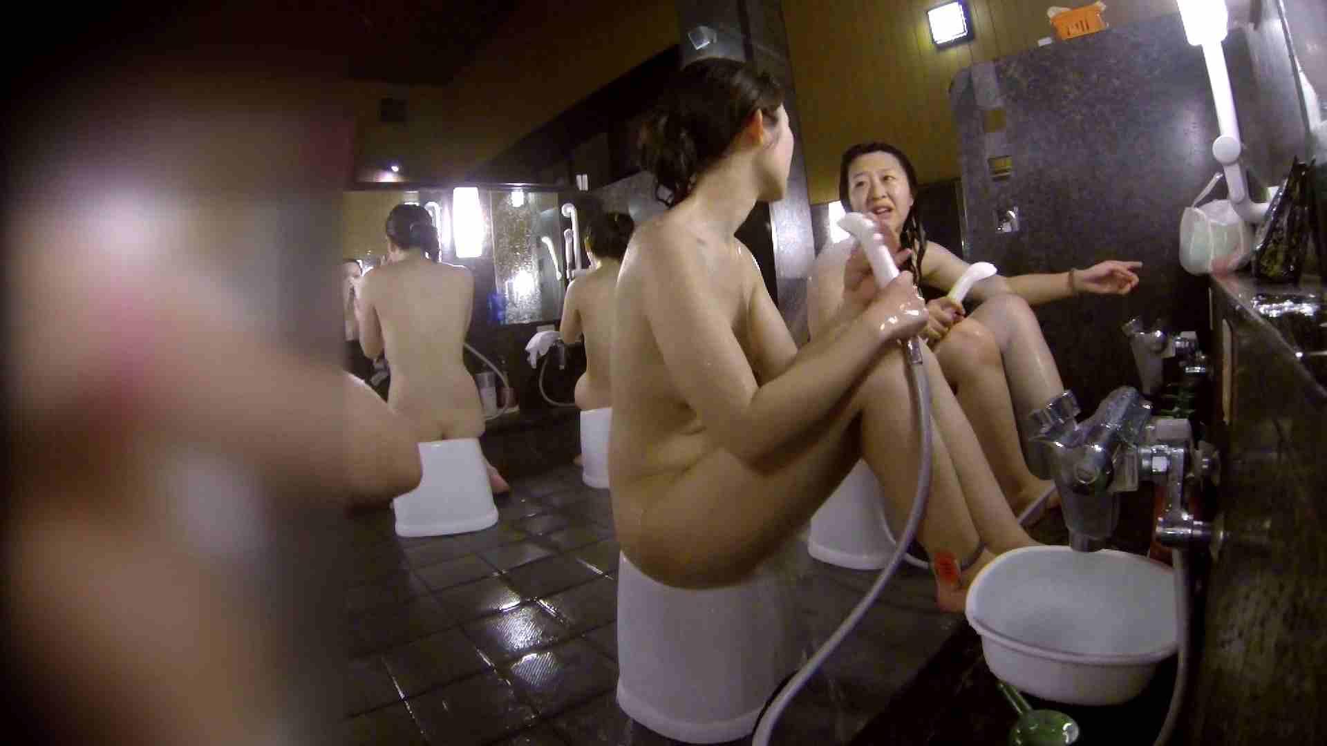 洗い場!地味目の女の子2人組。ずっと話しながら洗ってます。 むっちりガール おまんこ動画流出 111枚 85