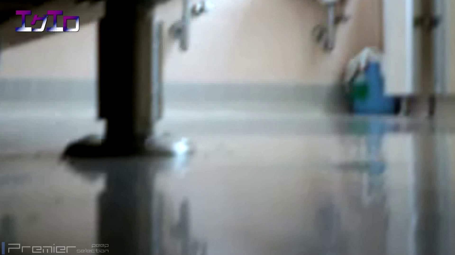 至近距離洗面所 Vol.07 ニーハイソックスに狙いを定めて 洗面所のぞき AV無料動画キャプチャ 111枚 68