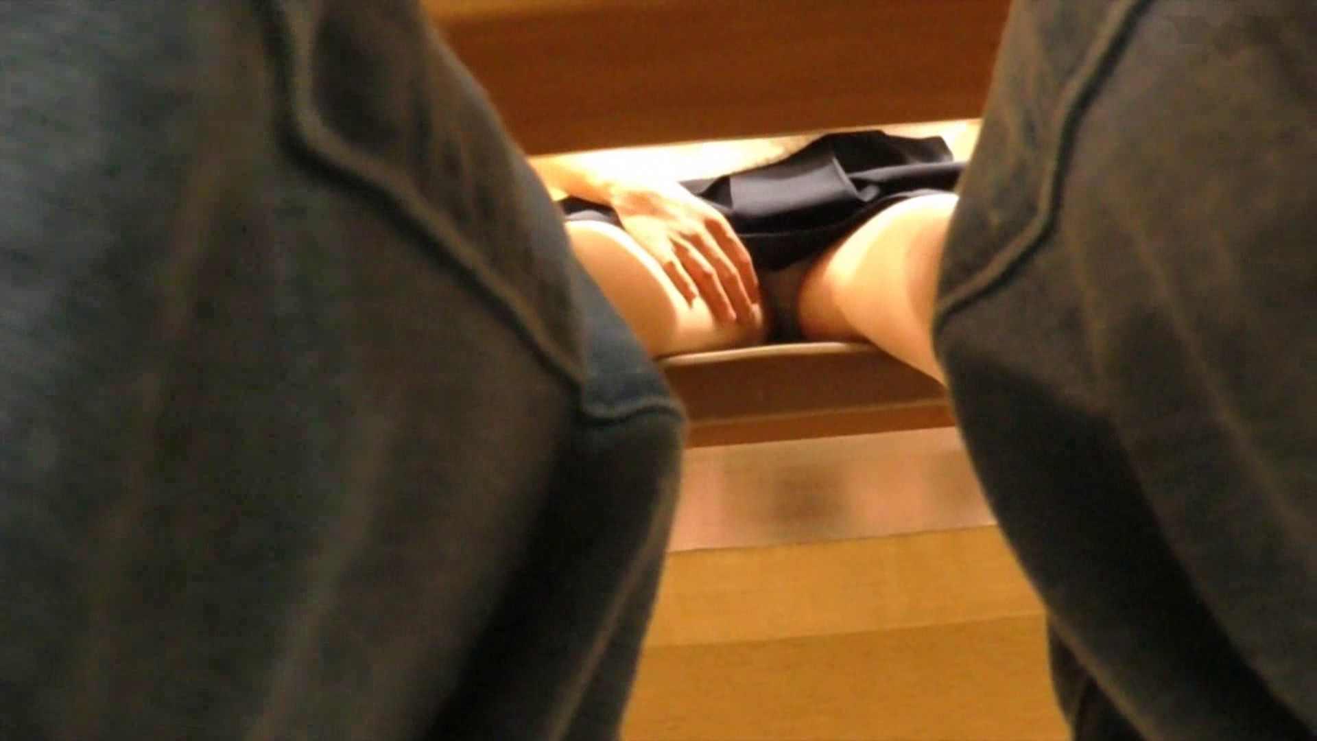 机の下の世界 Vol.02 JD+椅子+体育座り=丸見え!! 丸見え オメコ動画キャプチャ 99枚 80