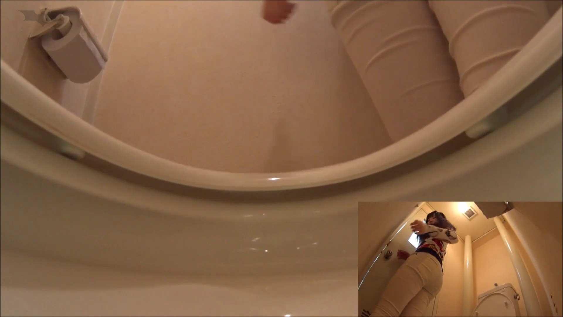 vol.03[洗面所]実はコレが目的でした。-W黒髪女子の聖水観察- 細身体型 エロ画像 77枚 38
