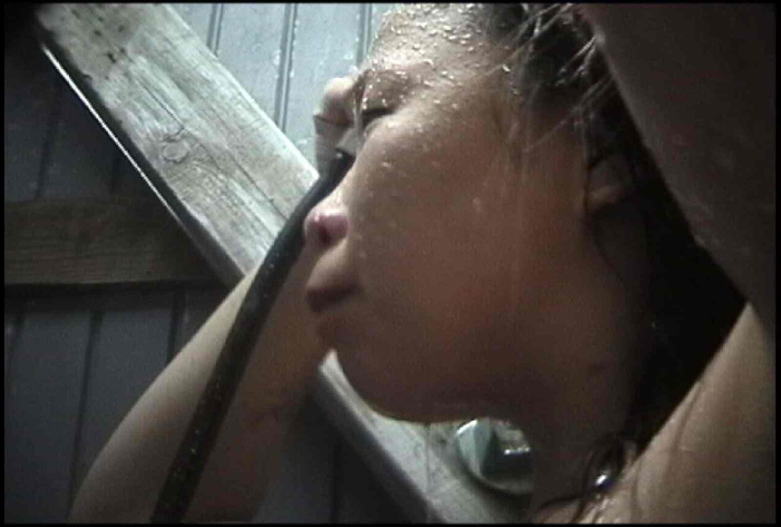 No.134 年増のぽっこりお腹 シャワー 戯れ無修正画像 98枚 45
