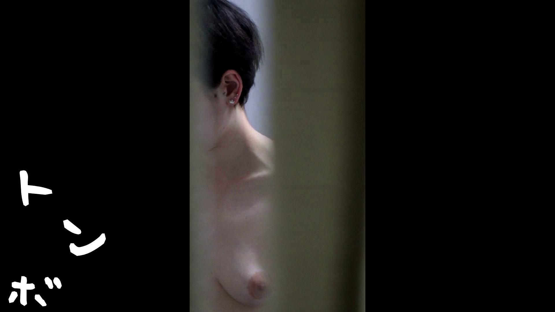 リアル盗撮 北欧留学生一人暮らし部屋ヌード 細身体型 戯れ無修正画像 88枚 42