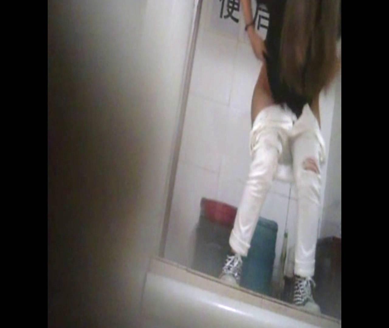 Vol.47 二度目の登場!絶対白いズボンの時は・・・ 洗面所のぞき 性交動画流出 80枚 2