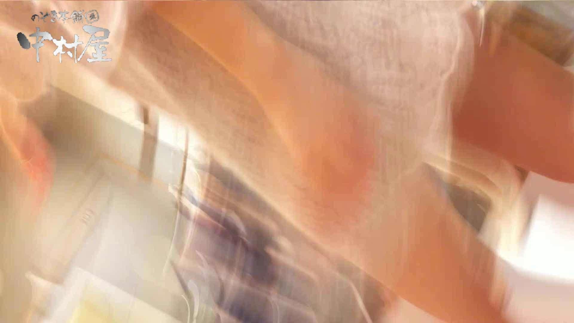 トイレ盗撮|vol.56 美人アパレル胸チラ&パンチラ メガネオネーサマの下着|のぞき本舗 中村屋