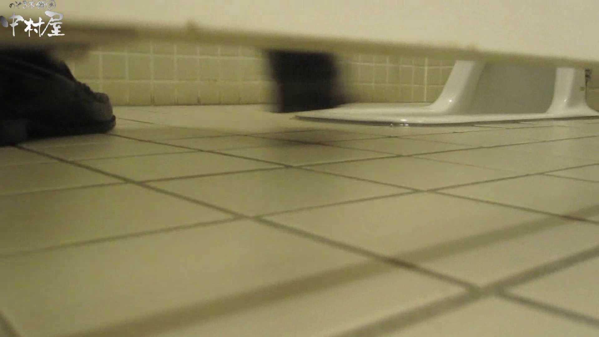 トイレ盗撮|魂のかわや盗撮62連発! 黒パンストギャル! 42発目!|のぞき本舗 中村屋